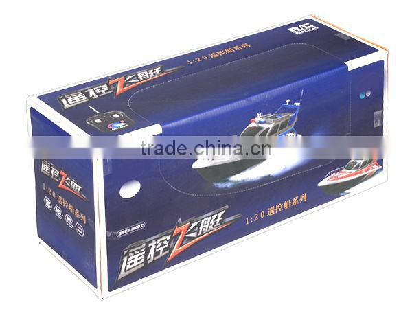 4Channel High speed boats china RC Police Boat RC