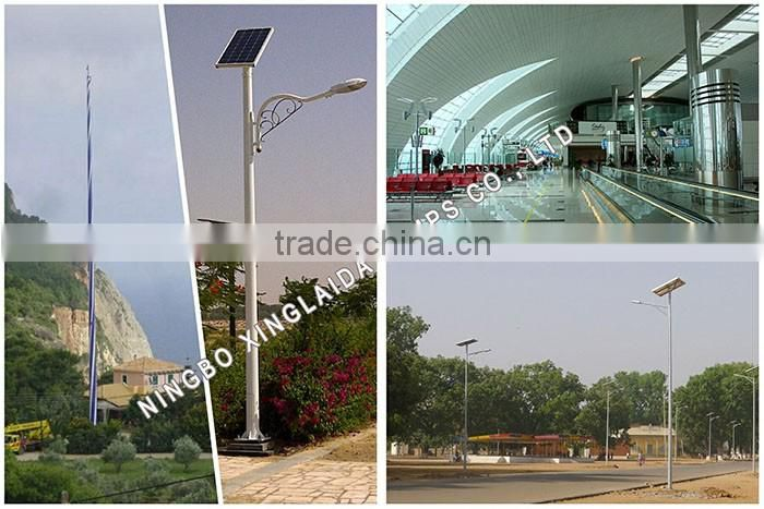 galvanized street lighting pole price 12m bajaj street light poles