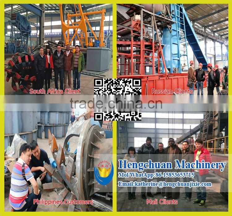 China Widely Used Low Price Gold Dredge with Buckets