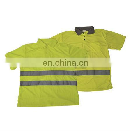 Economy High visibility Reflective Safety Polo Shirt