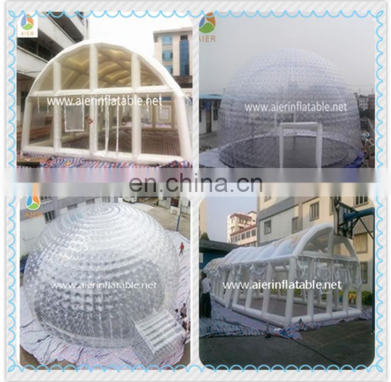 Customized inflatable tent,go outdoors inflatable tent