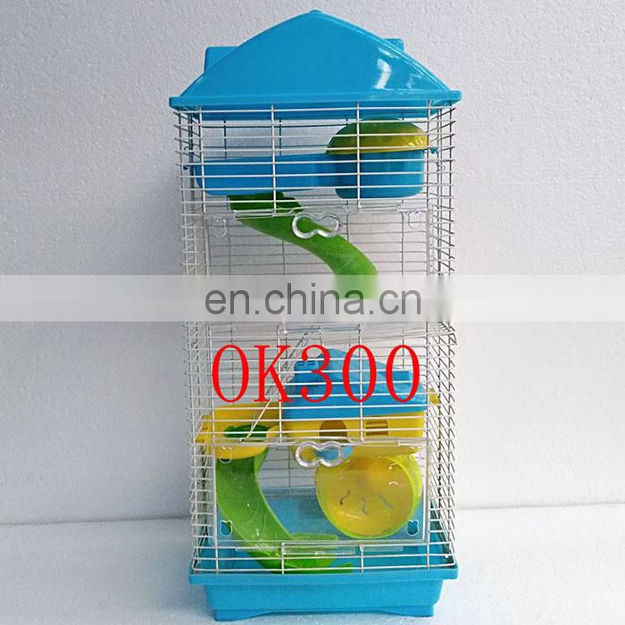 luxury hamster cage animals transparent clear view larger plastic house acrylic cheap cage for hamster