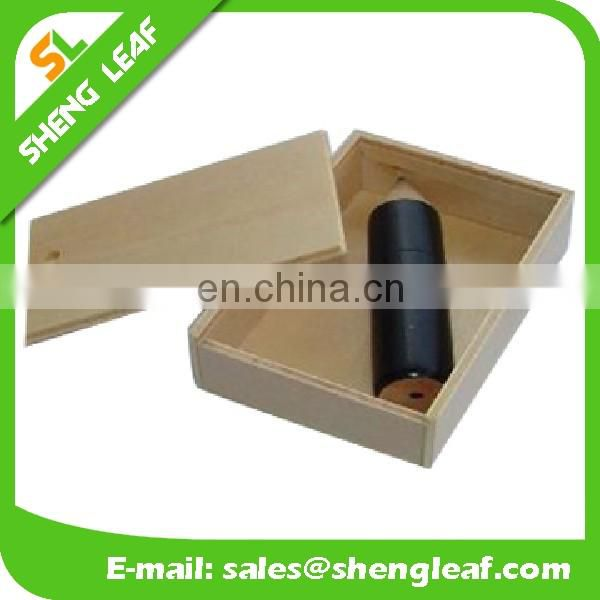 Promotional custom wooden USB flash drive