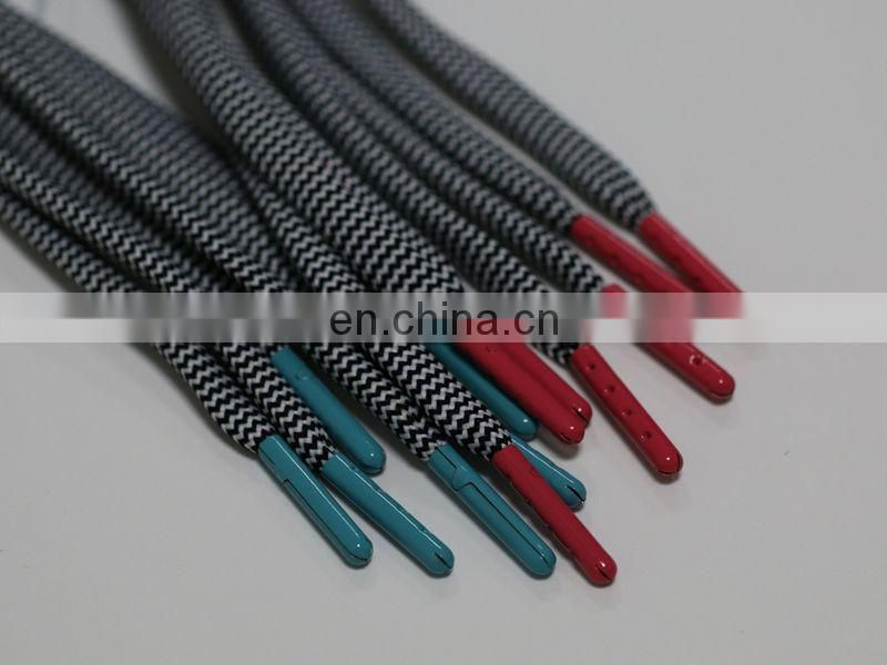 ... Red and lighter green metal material shoe lace aglets for shoelaces and shoelace tips metal tips
