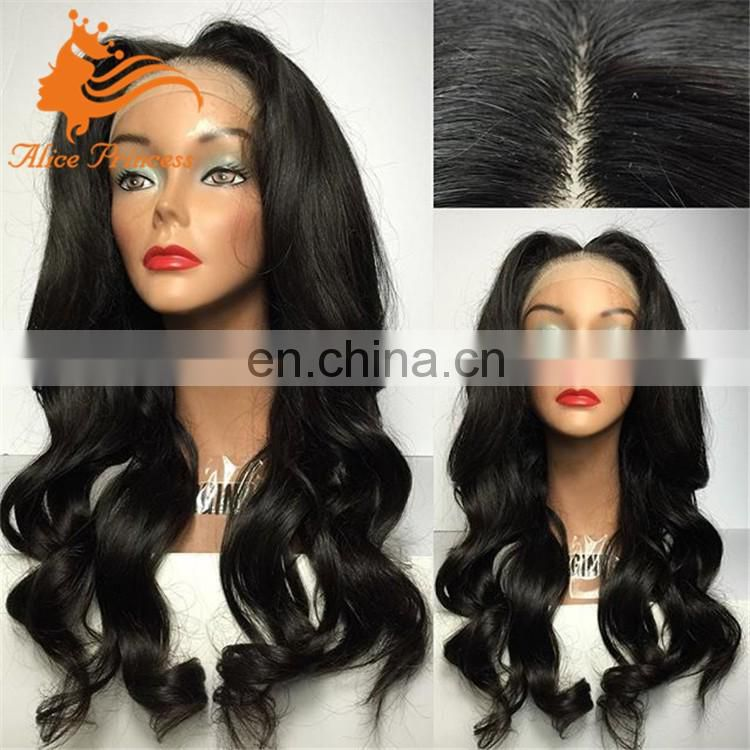 4x4 Silk Base Full Lace Wig Glueless/Full Lace Silk Top Human Hair Wigs for Black Women Baby Hair Natural