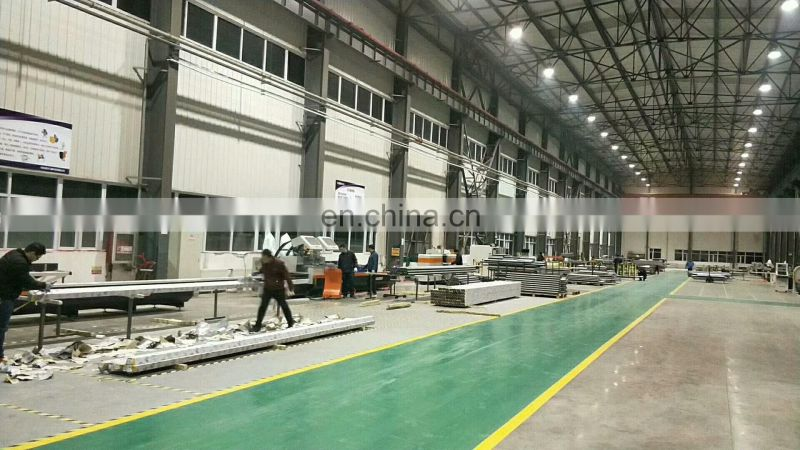 4 Axis CNC Milling Drilling Machining Center For Aluminum profile window and door curtain wall 17