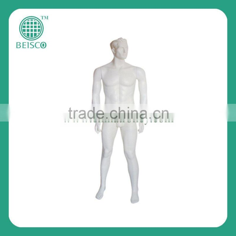 Trade assurance nice selling whole body male model JS-AMA09, uesd full body male model for sale