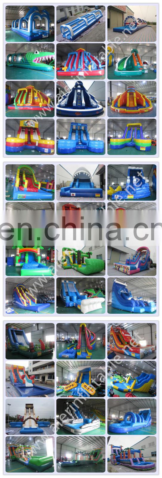 Aier Commerical water slide/Cheap water slide/low price inflatable water slide
