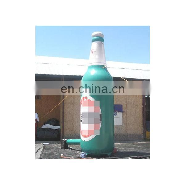 giant advertising inflatable beer bottle for decoration