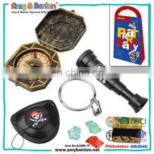 Plastic pirate play toy set for boys