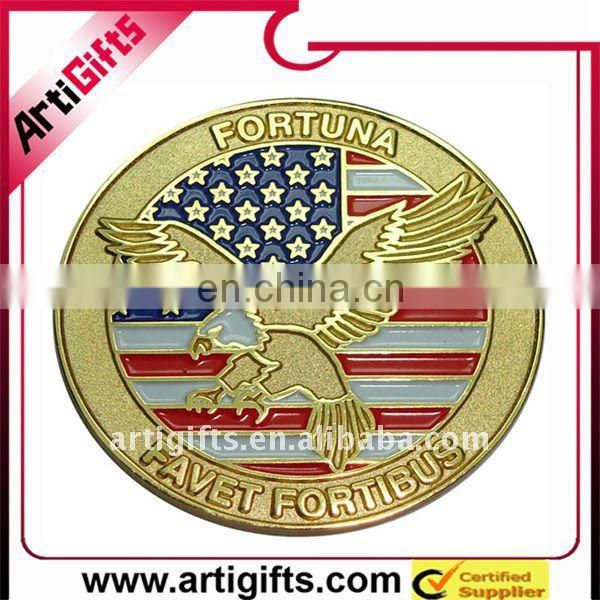 army eagle metal coin