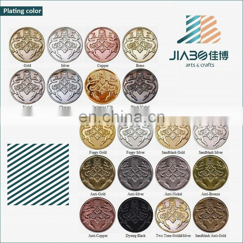 Stamping custom zinc alloy metal souvenir gold coin dealers