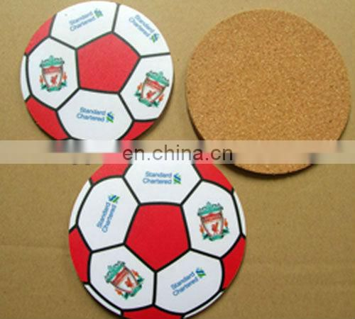 Hot sale Custom paper printed drink cork coaster