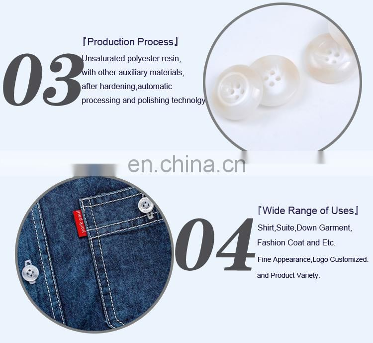 Custom Fashion Plastic Button Sewing Button for Coat BP40540