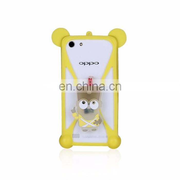 Low Price Custom Cartoon Silicone Mobile Phone Case