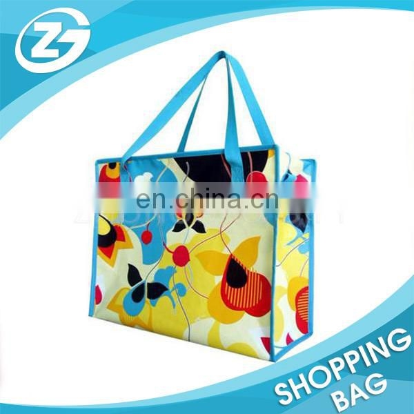 Spring Promotional Bag Non Woven 4 Color Lamination Bag