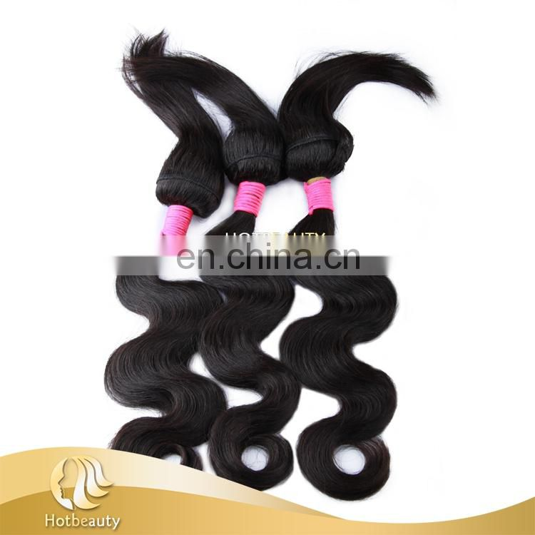 2017 Soft Top Grade Brazilian Body Wave Silky Straight Braid In Hair Bundles