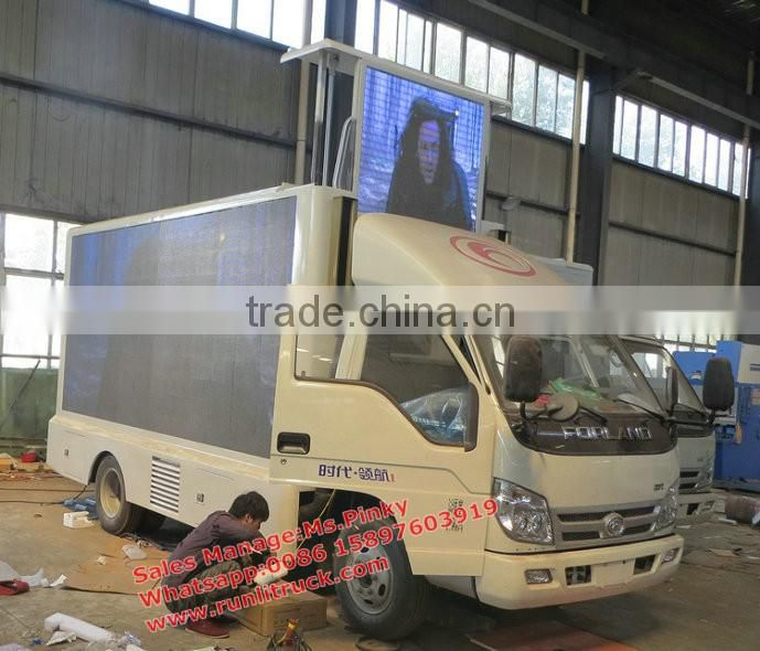 NEW LED Mobile Trucks with P10 Outdoor Full Color LED display/full Color P6/P8/P10 RGB Advertising Mobile Display Screen