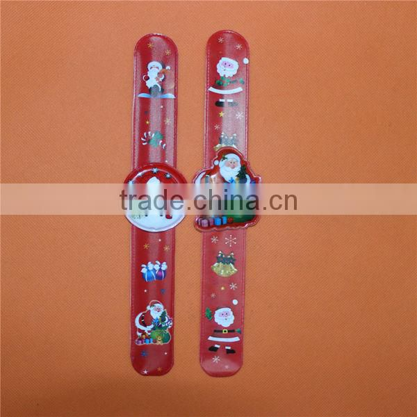 Hot Sale Promotional Items PVC Slap Watches With Logo