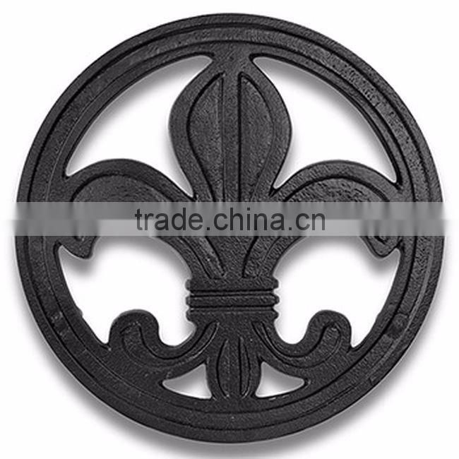 circle shape antique trivet for sale