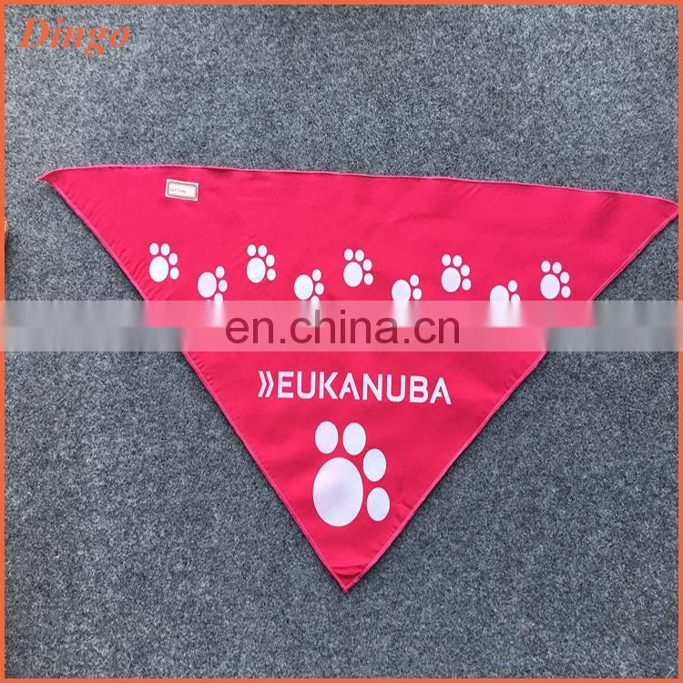 Triangle custom printed pet dog bandana