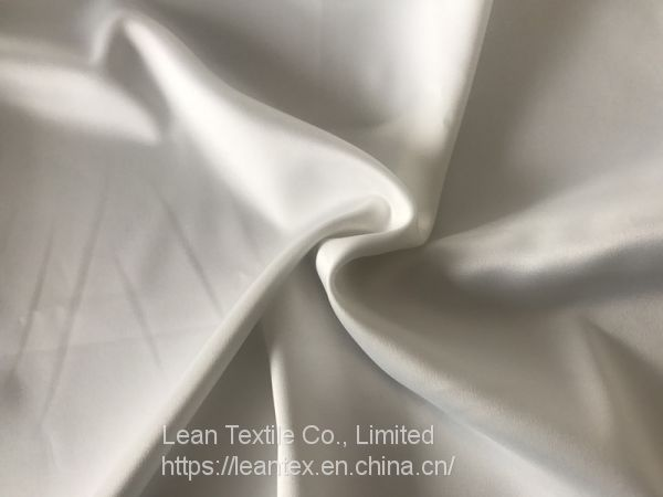Polyester 50D Dull Stretch Twisted Satin Fabric 90 gsm