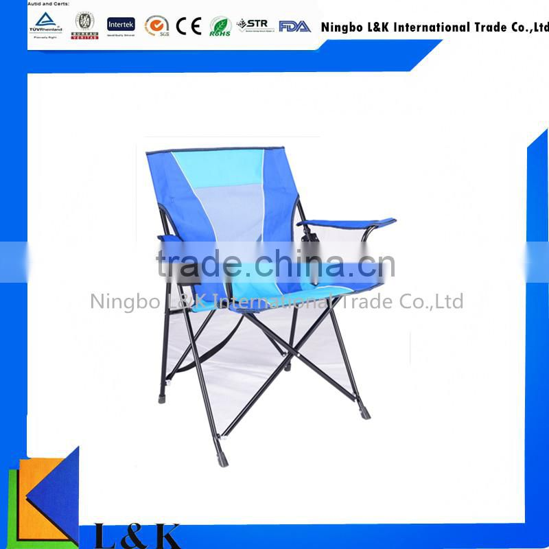 Comfortable outdoor folding chair camping/foldable camping chair with lock
