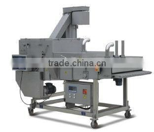 Automatic frozen fishball/Chicken Nuggets/Dumpling(Colonels Crispy Strips, Mcnugget, Chick Strip) Processing Line