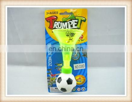 plastic football trumpet horn toy