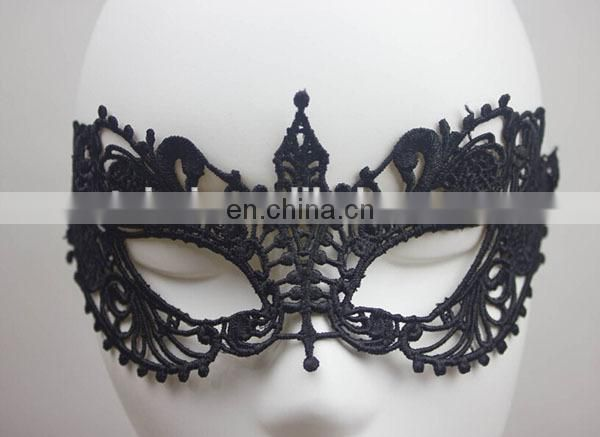2015 Fashion Half Face Hot Sale Most Popular lace Halloween Mask in Party mask