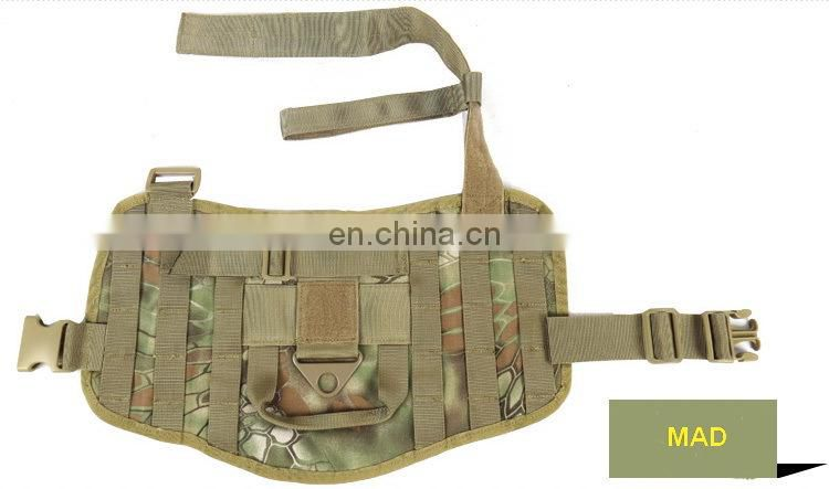 New Molle System Hunting Dog Vest