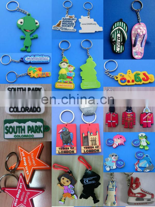 promotion PVC key chain cool sun glasses fashion design with keyring