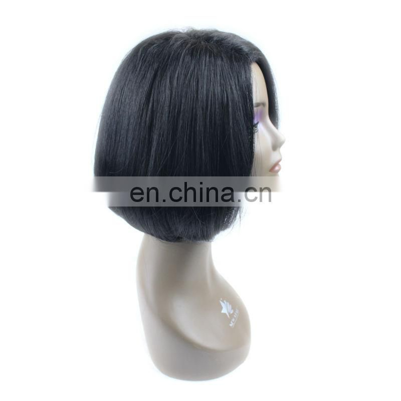 hot sale indian remy gray hair full lace wig
