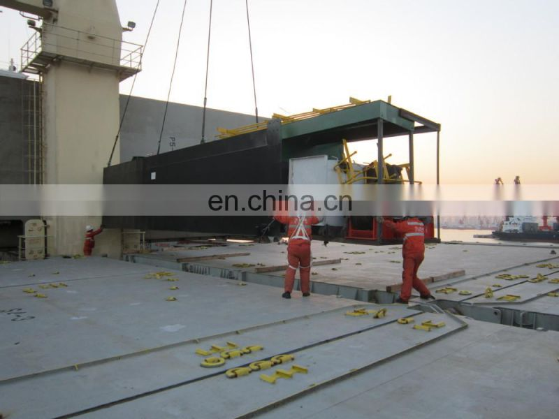 10 inch 1450m3/h boat for dredger with dredging depth 10m