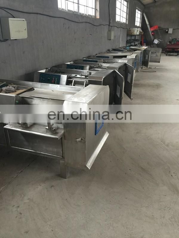 Automatic frozen meat dicer/dicing machinery used for meat dicer / Fresh Meat Cube Dicer Machine