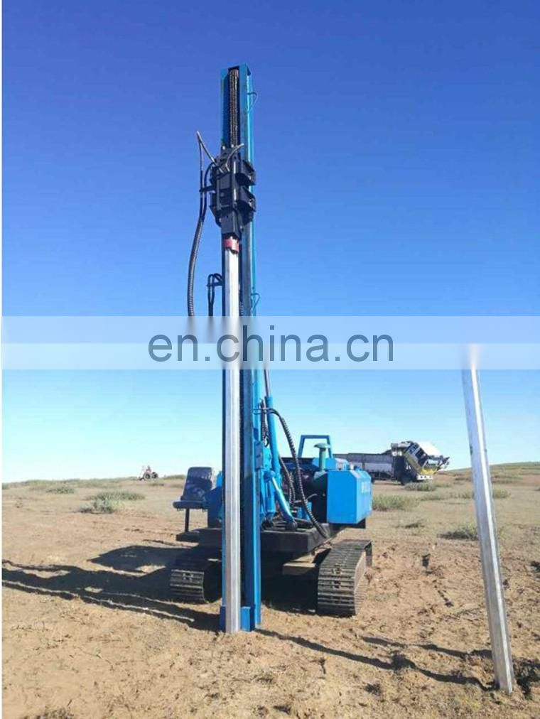 China factory drop hammer hydraulic foundation borehole pile driver