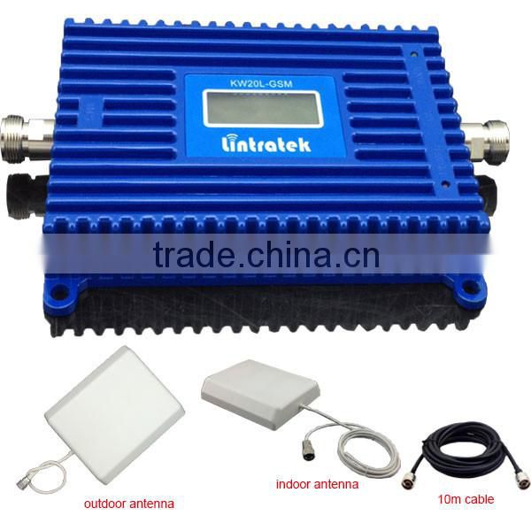 1500sqm cover range 1700mhz signal booster with AWS 3G LCD screen full set single band 70dbi repeater