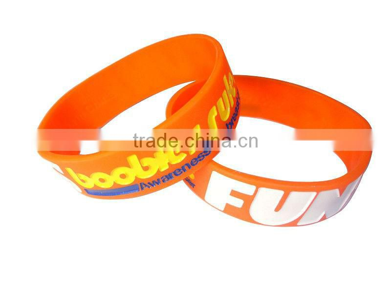 Flexible non-toxic odorless silicone bright charms for bracelets bangle bracelet set