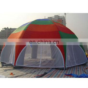 inflatable spider tent with customized colour and logo printing