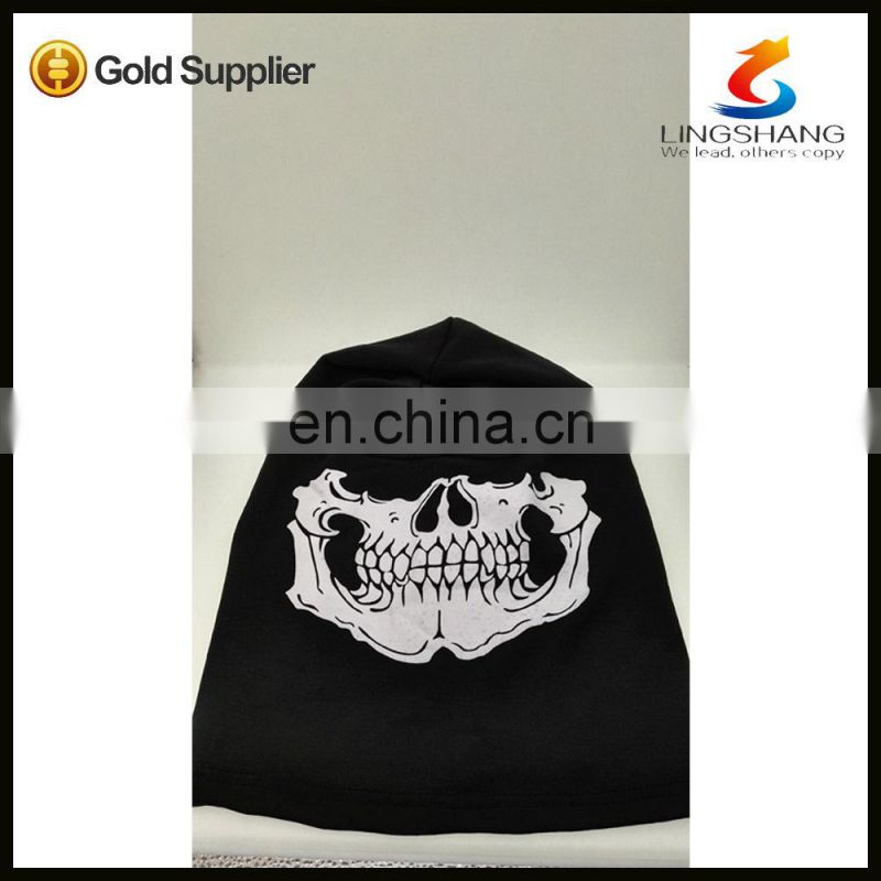 NINGBO lingshang polyester outdoor neck warmer ski face mask earflap winter hat