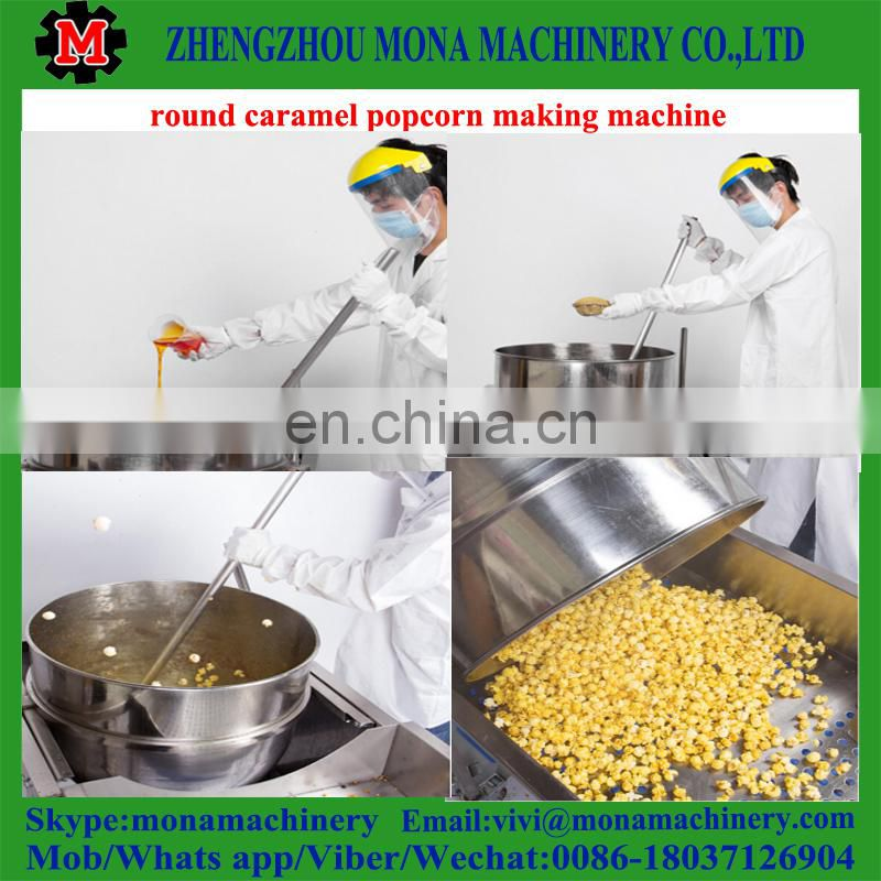 Continuous Automatic Popcorn Machine with high capacity
