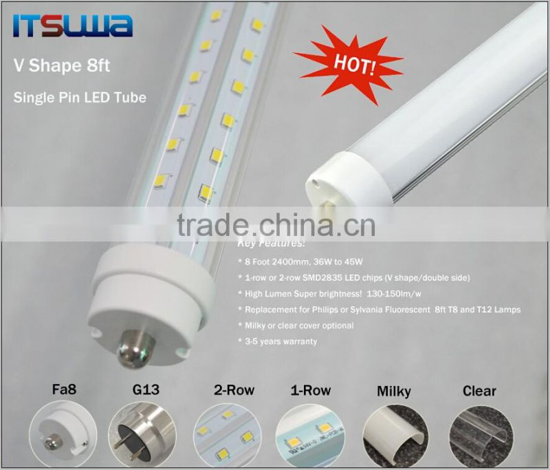 T12 dimmable led tube light for chicken house/coop, 18W 4ft