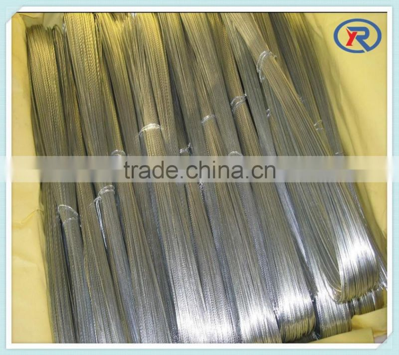 Electro/hot dip galvanized steel/iron wire ( with ISO9001 and SGS )