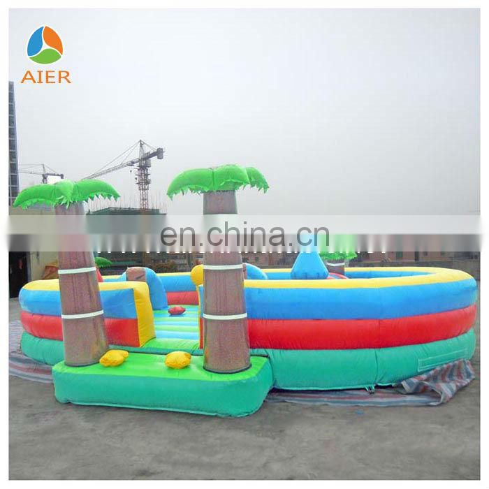 China New Colorful Inflatable Playground /Jumping funland