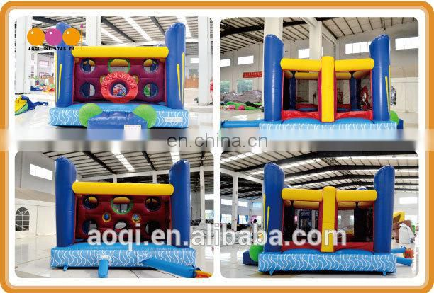 2015 wholesale EN14960 certificate inflatable bouncer maze for children for sale