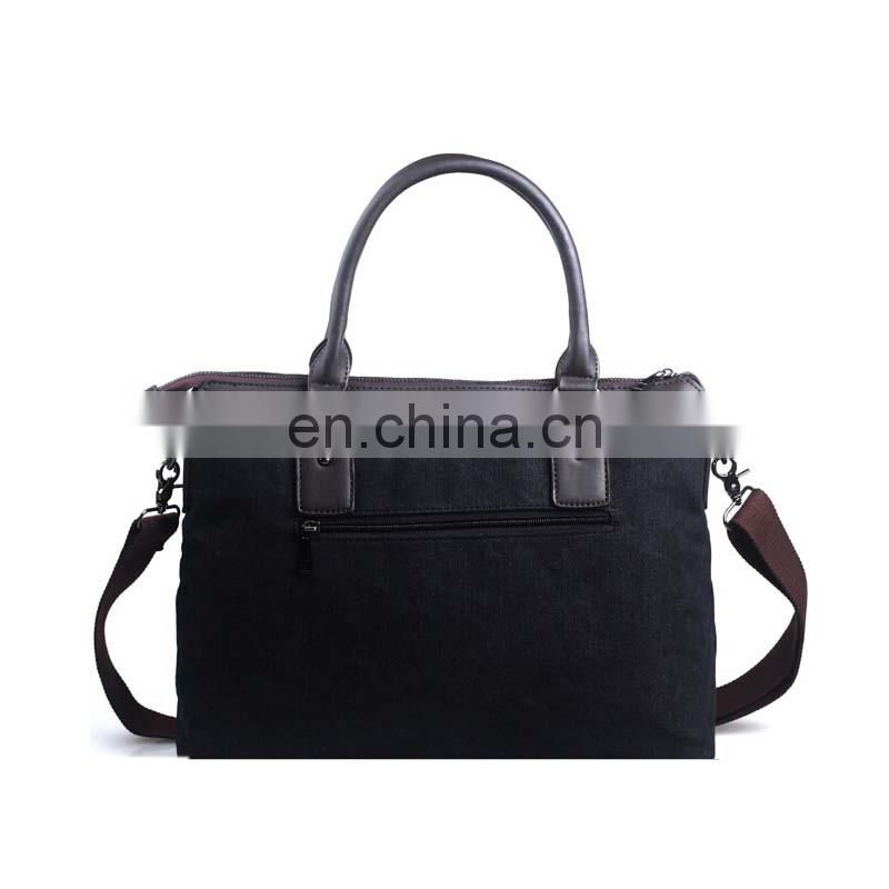 China manufacturer briefcase with leather handle