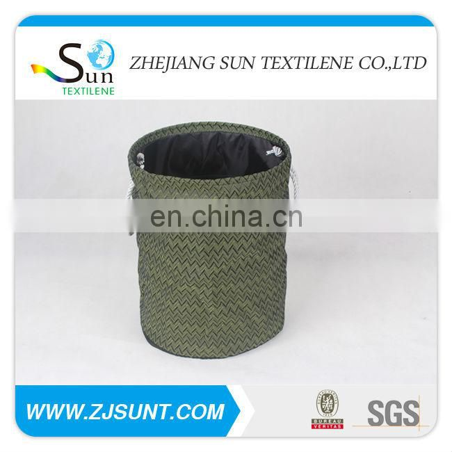 hot sale rattan with lining for laundry bag