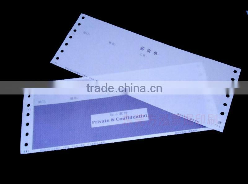 Ordinary Paper,100% wood pulp Material and Window Envelope,salary envelope Type pin mailers envelope
