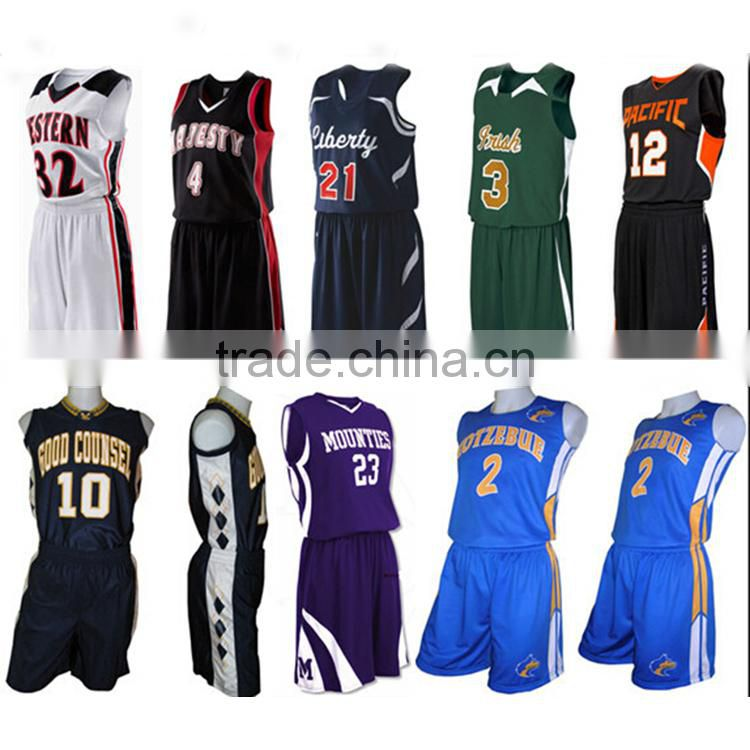2016 Latest Philippines Custom Camo Basketball Uniform Jersey Design