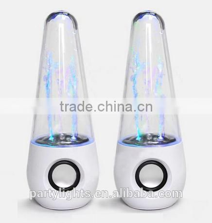 Color Changing Table Lamp Bluetooth Speaker Mini Portable With Memory Card